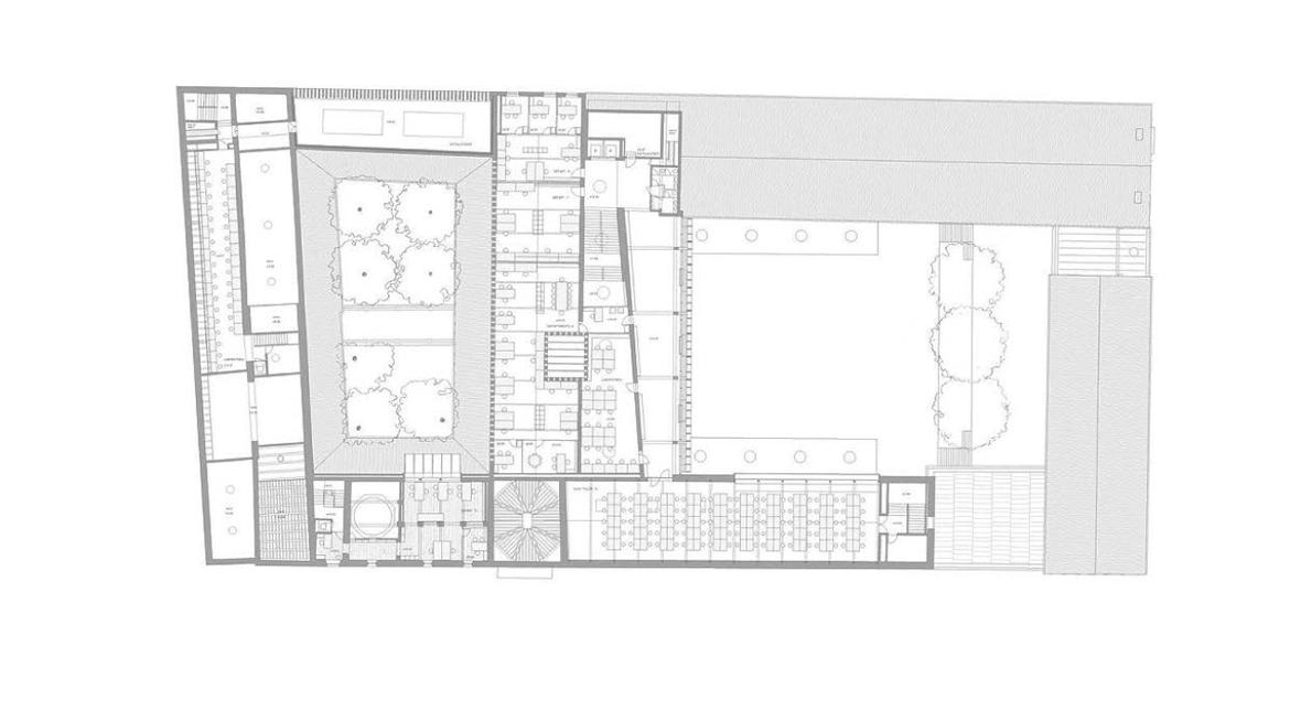 Premio de arquitectura espa ola para v ctor l pez cotelo for Plantas de colegios arquitectura
