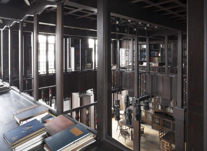 Glasgow school of art mackintosh restoration by pagepark for Interior design glasgow