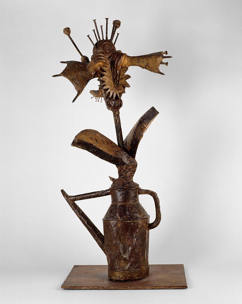 Picasso sculpture at moma metalocus