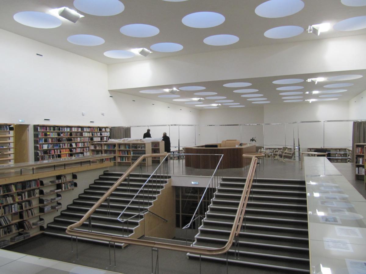The Story Of Alvar Aalto Library In Vyborg Metalocus