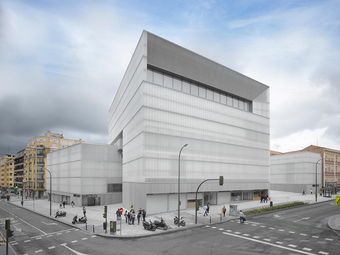 Nuevo mercado barcel en madrid por nieto sobejano metalocus for Restaurante escuela de arquitectos madrid