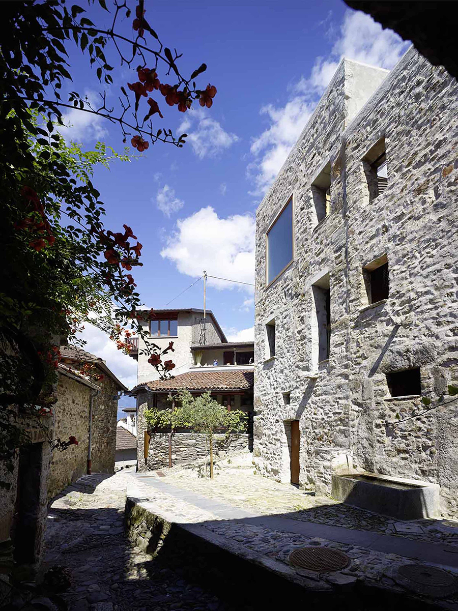 Stone House Transformation by Wespi de Meuron Romeo architect ...