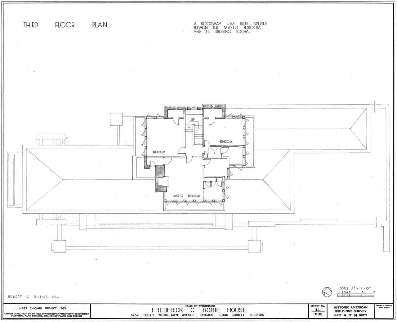 Falling Water Floor Plan Pdf Marvellous Robie House Site Plan Images Exterior Ideas