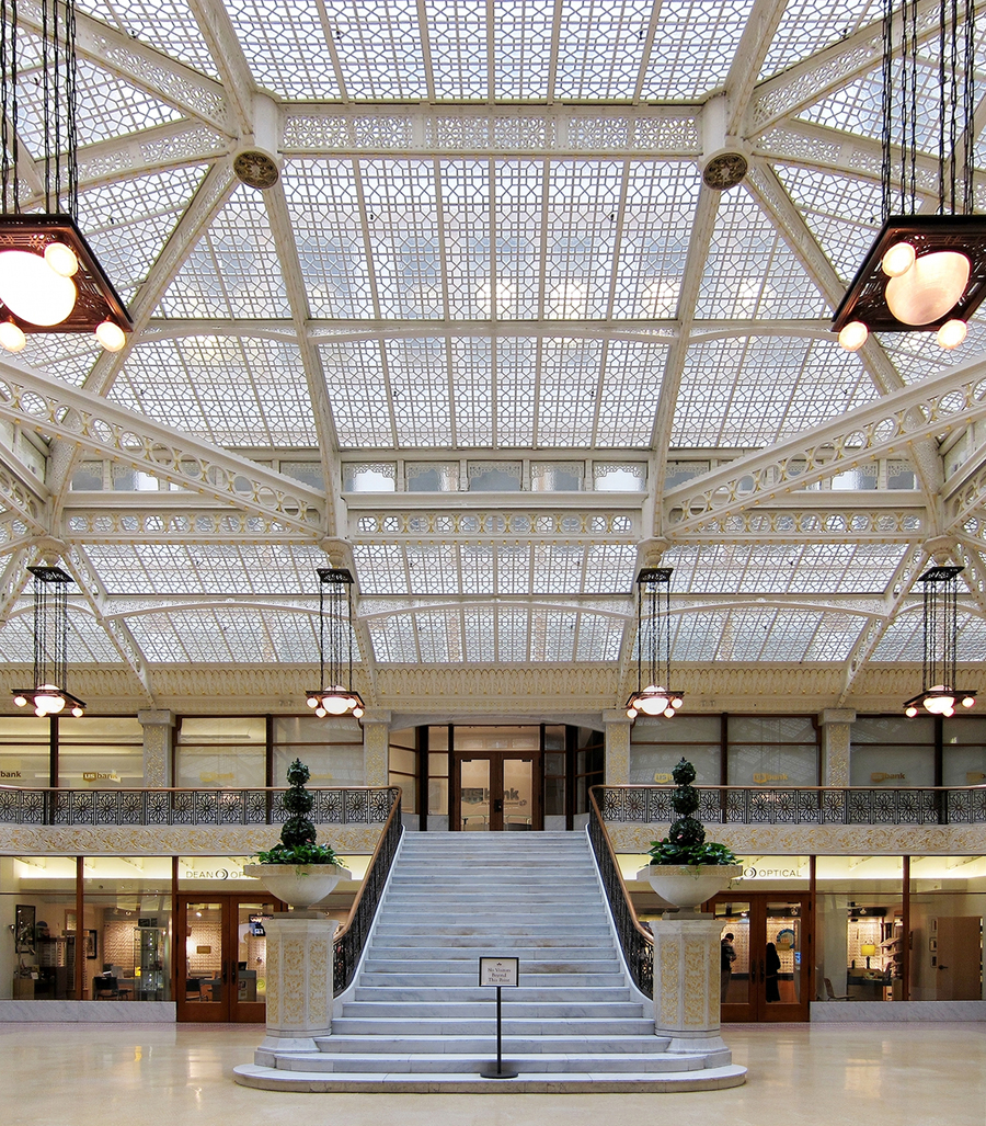Rookery Building By Frank Lloyd Wright Metalocus