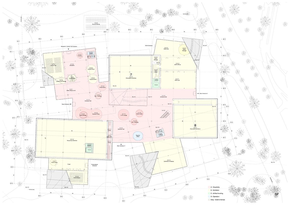 SANAA's proposal: New National Gallery/Ludwig Museum [I/II ...
