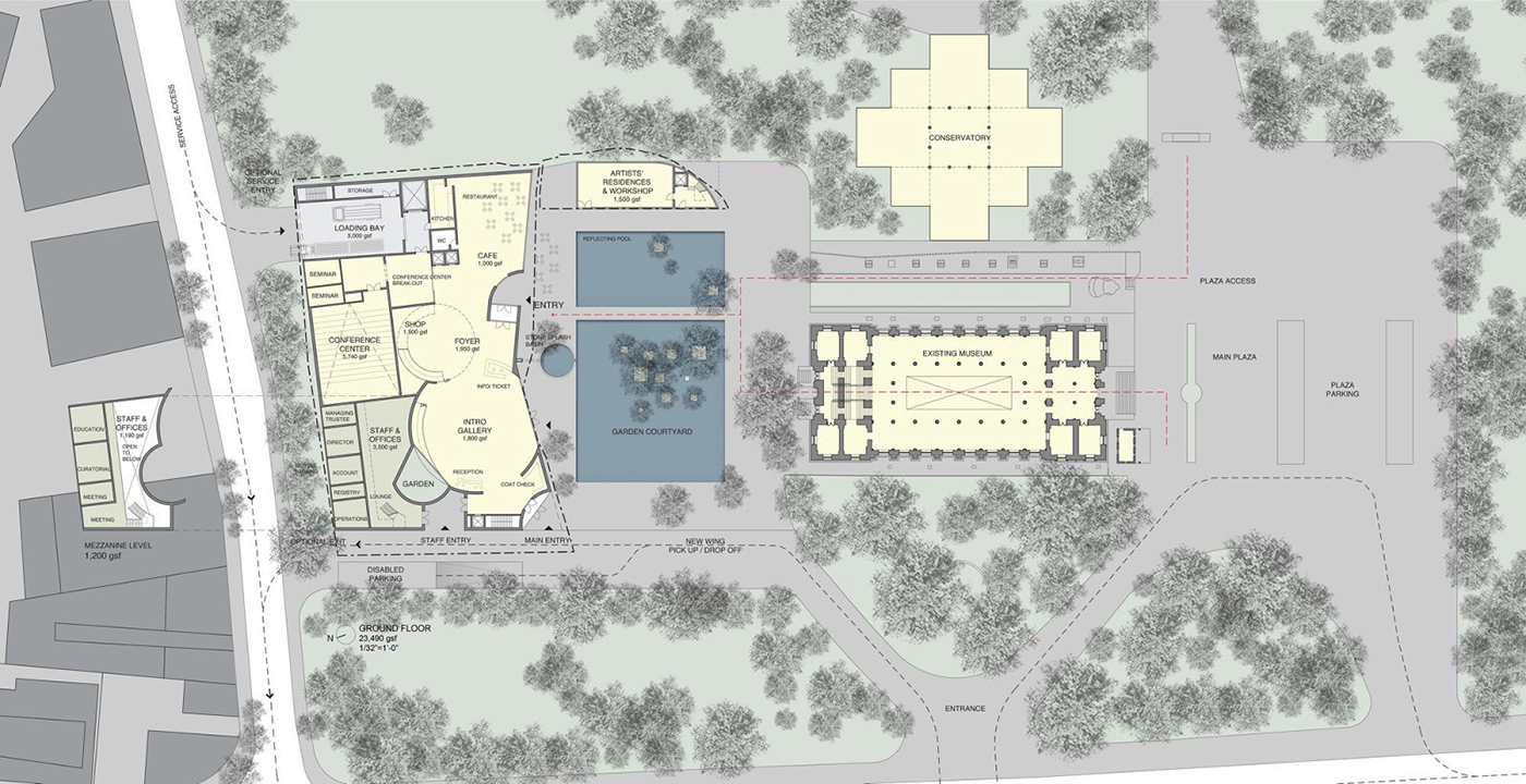 Steven Holl Architects Win Mumbai City Museum Competition