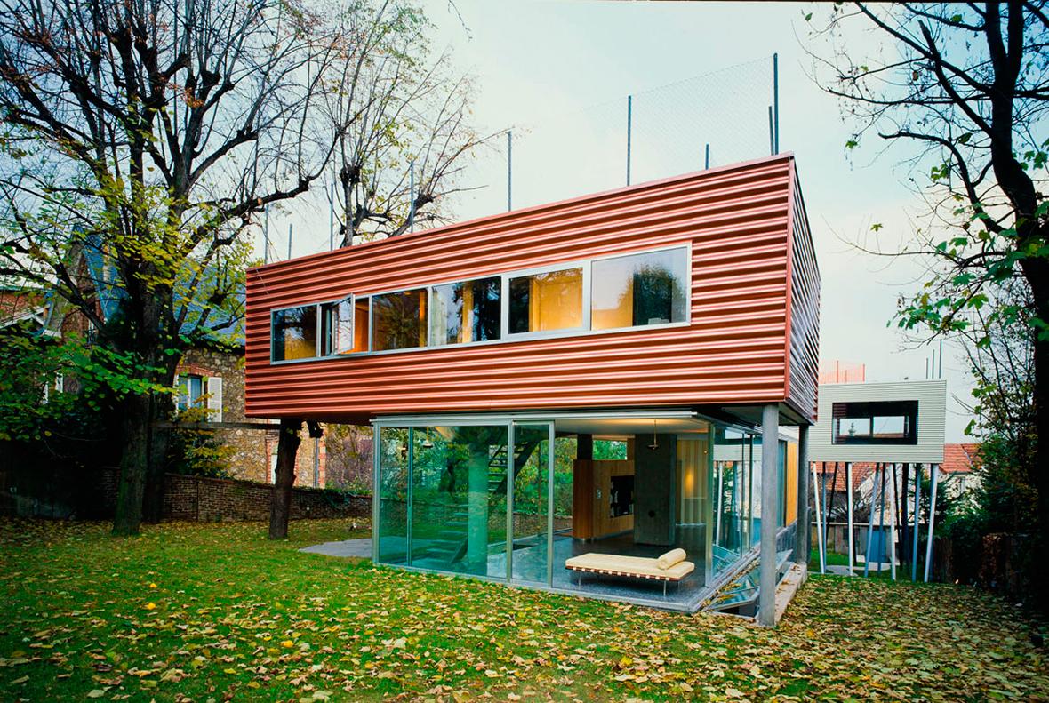 Villa Dall 39 Ava By Rem Koolhaas Metalocus