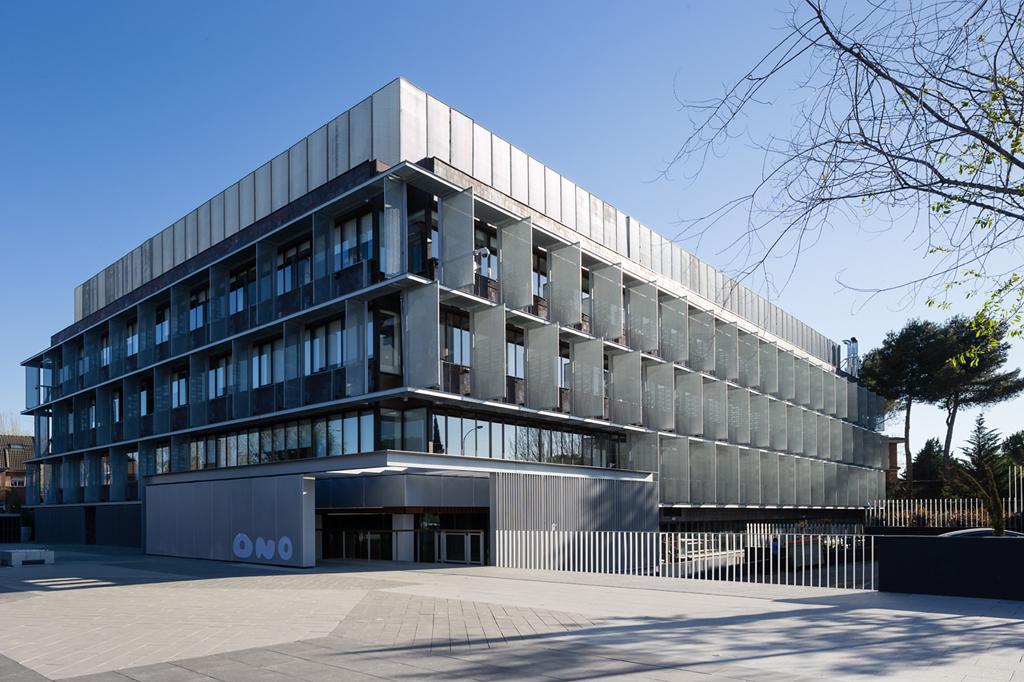 nueva sede corporativa de ono metalocus