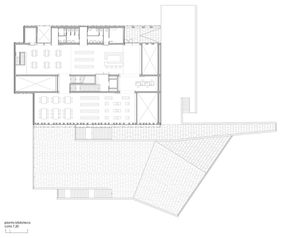 Oke nueva casa de la cultura y biblioteca en ortuella por for Biblioteca arquitectura