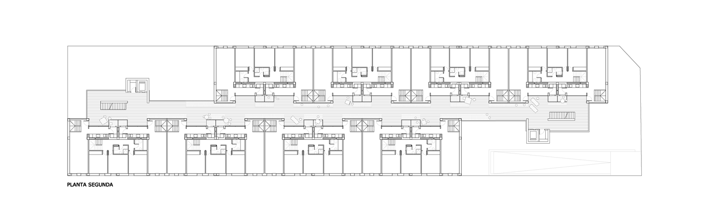 32 social housing units in san vicente del raspeig metalocus for Houseplans vivente del sud