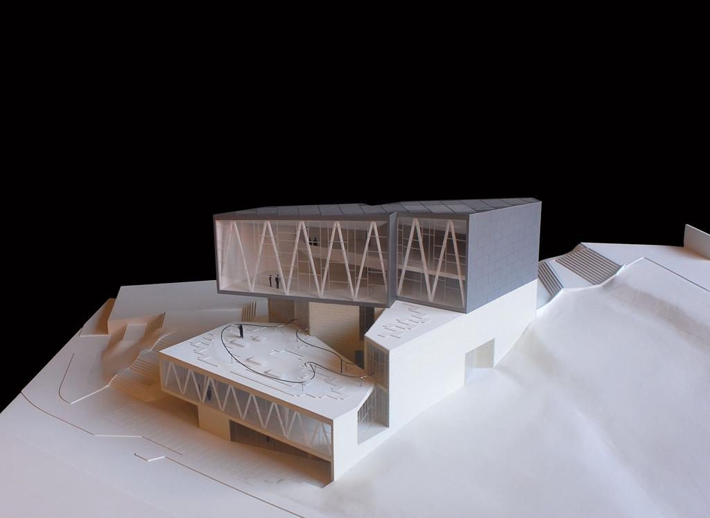 Biblioteca municipal ana mar a matute en carabanchel for Biblioteca arquitectura
