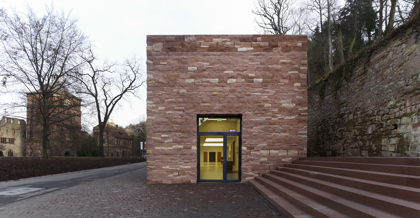 Architekt Heidelberg heidelberg castle s visitor centre metalocus
