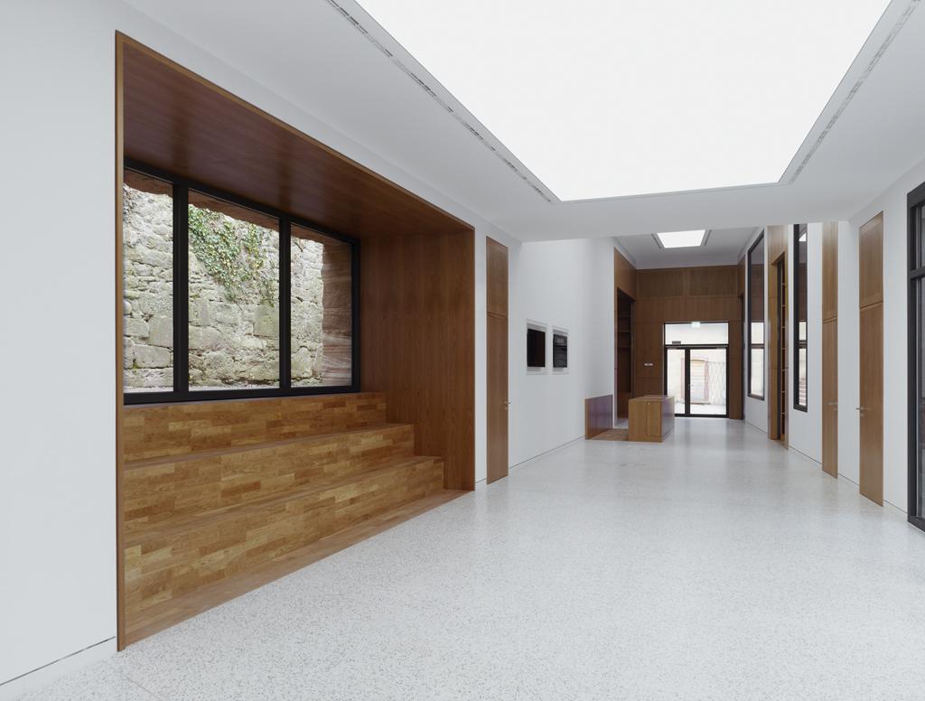 heidelberg castle 39 s visitor centre metalocus. Black Bedroom Furniture Sets. Home Design Ideas