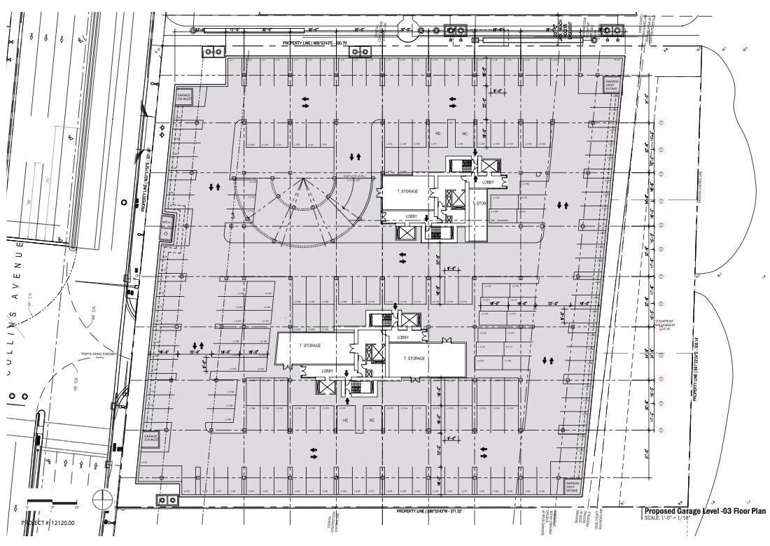 Jade signature tower by herzog de meuron metalocus for Plan de garage