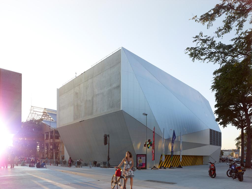 La fabrique artistic laboratories and cultural center in for Stage cuisine nantes