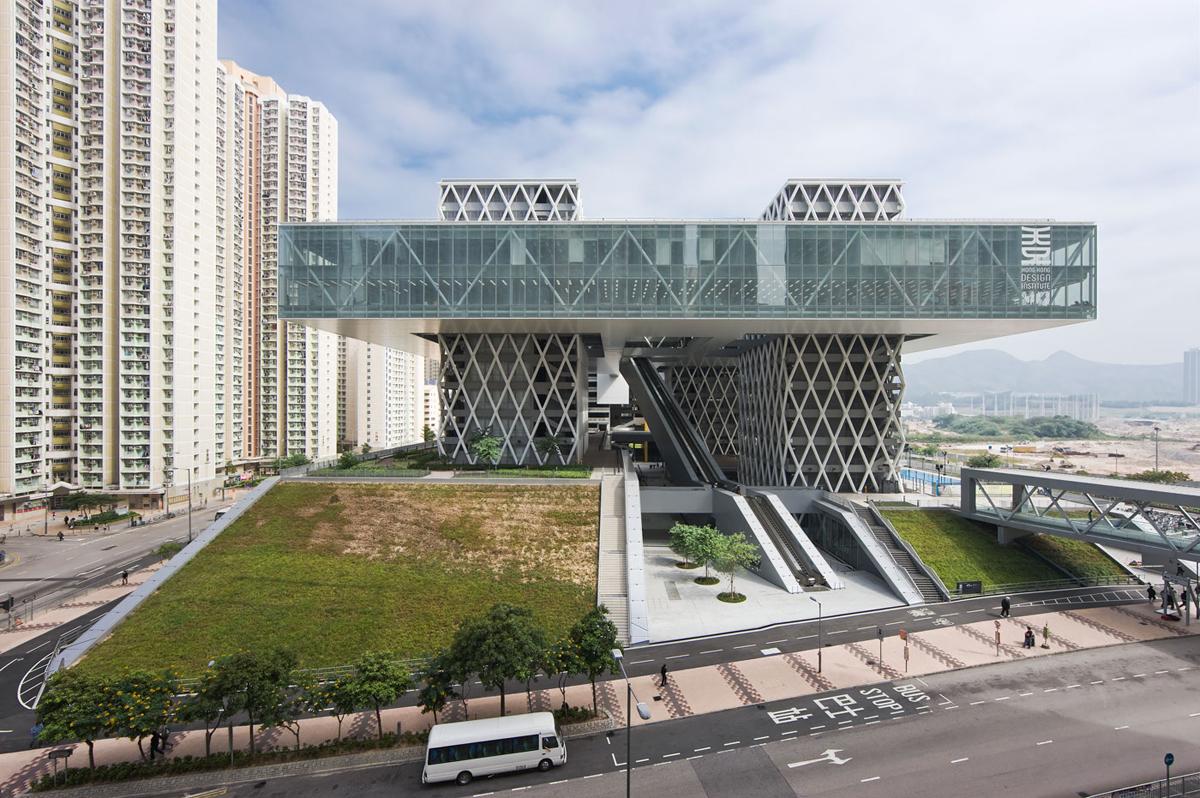 Hong Kong Design Institute Por Caau V Deo Metalocus