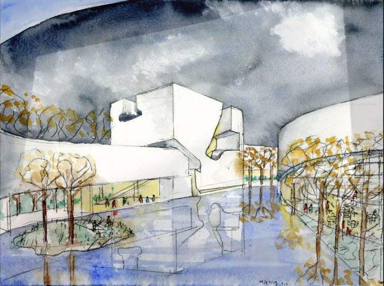 Steven Holl Wins The Culture And Art Center Of Qingdao