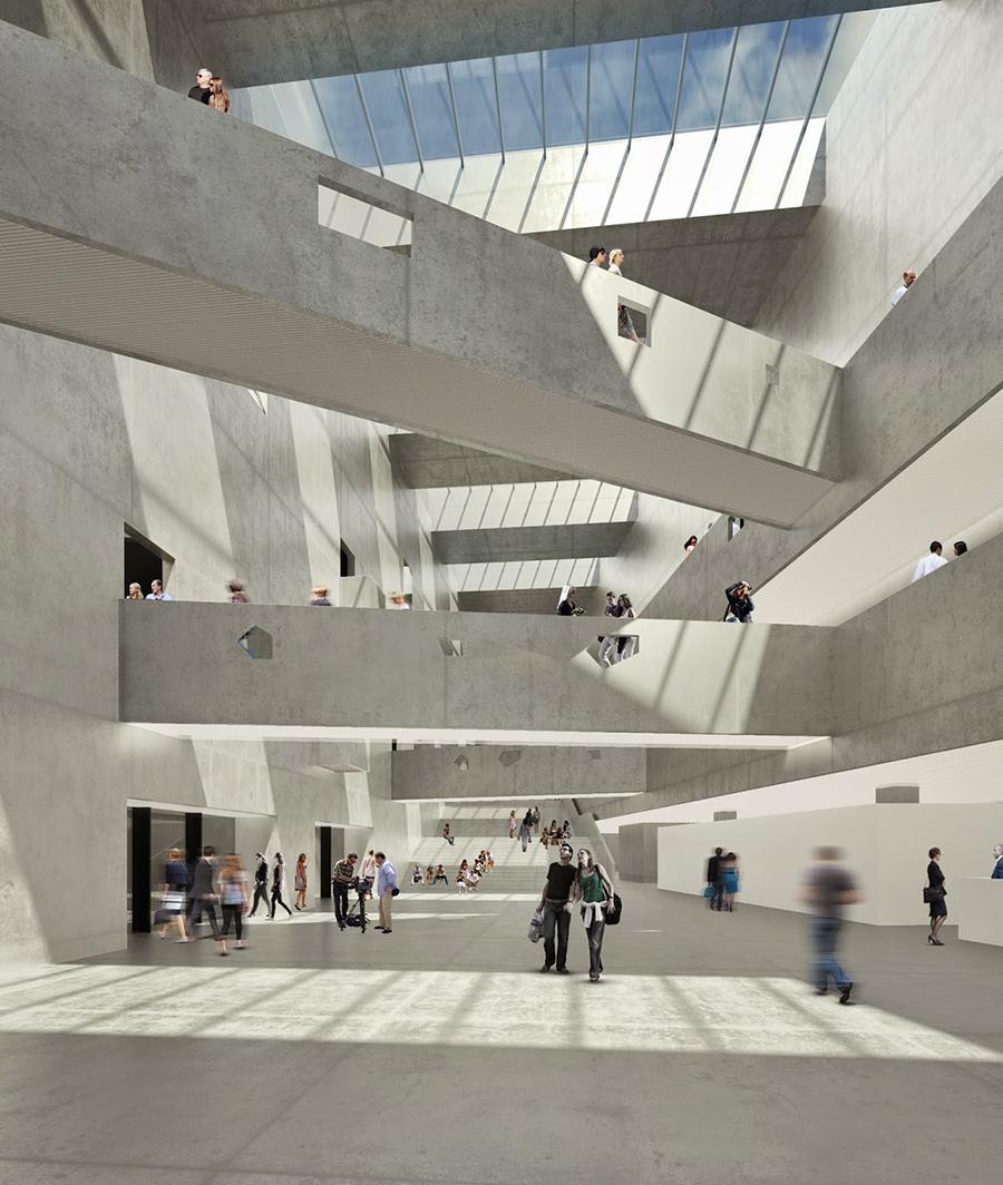 Main Cortile. ANIMA by Bernard Tschumi. Image © Bernard Tschumi Architects