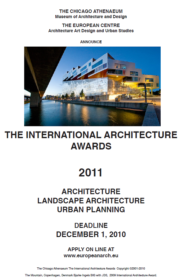 the international architecture awards metalocus