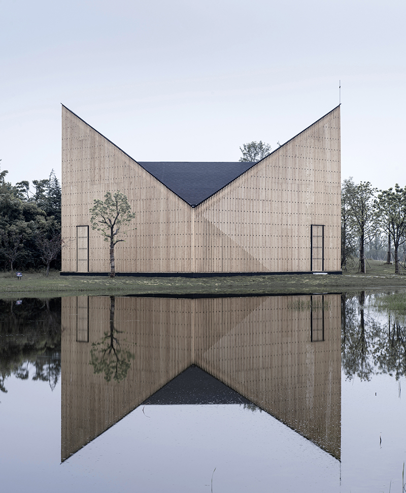 Capilla del Jardín de Nanjing Wanjing por AZL Arquitectos. Fotografías © Yao Li
