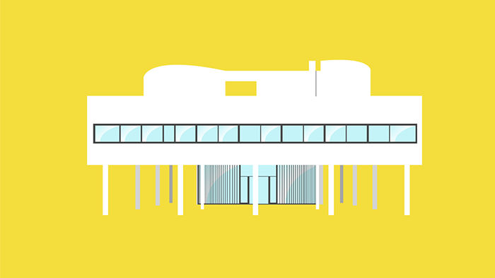 Ville Savoye by Le Corbusier. Iconic Houses by Matteo Muci