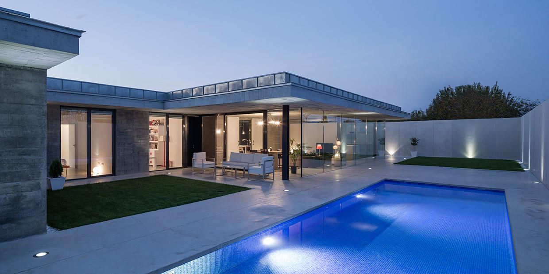 Casa porche en morales del vino metalocus - Que es un porche en arquitectura ...