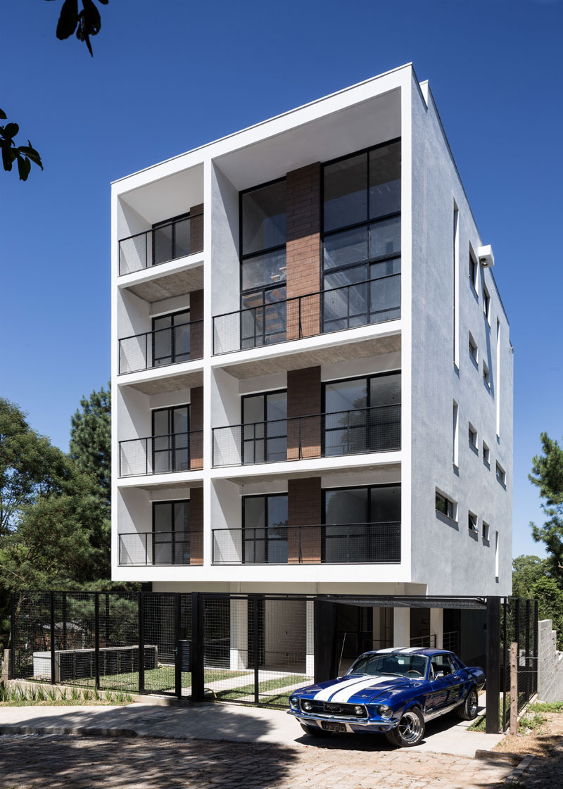 Framing the landscape quattro residential building for Residential house builders