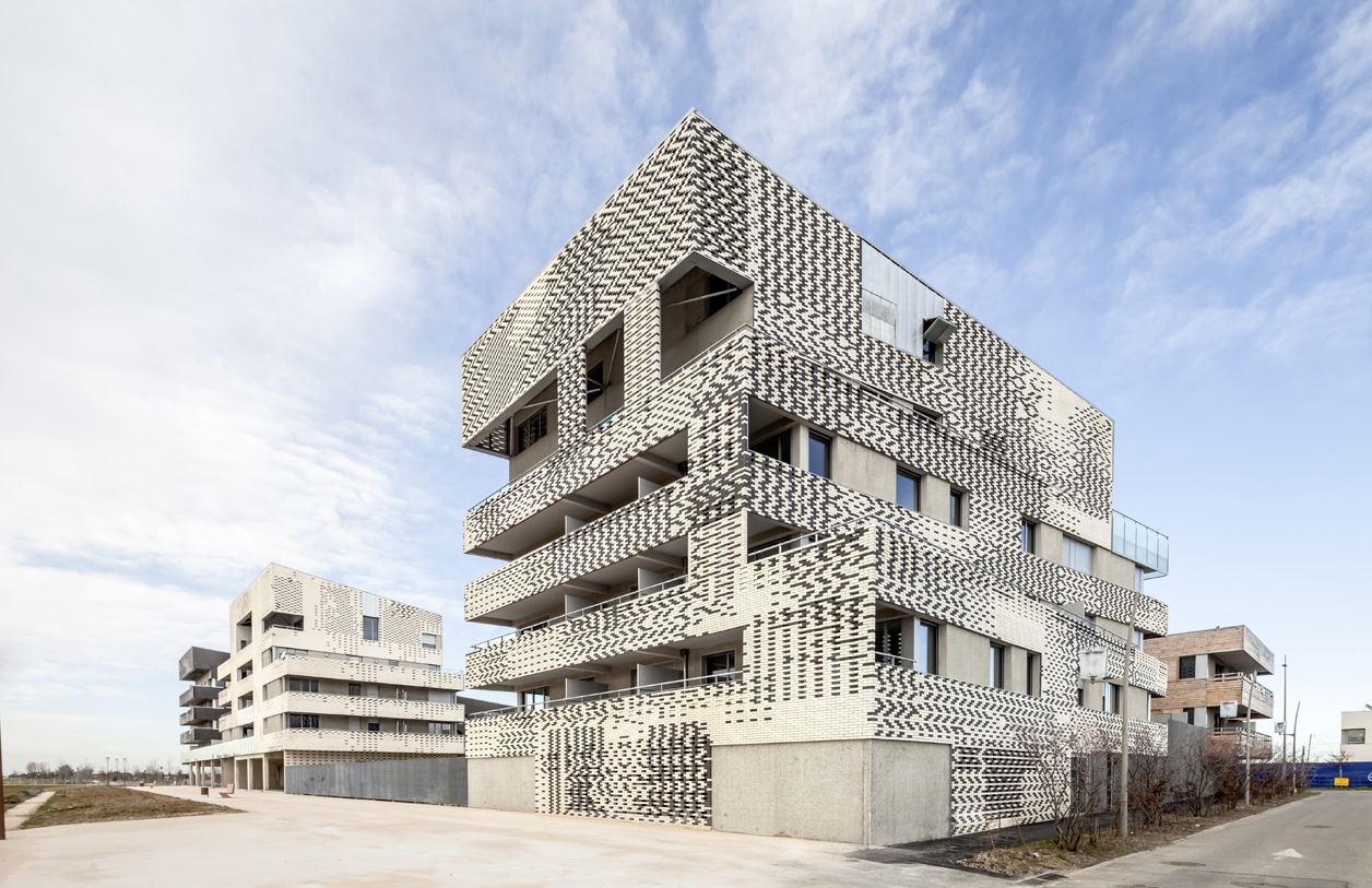 Buildings A, B and D. Dwellings in Toulouse by Mateo Arquitectura. Photography © Adrià Goula