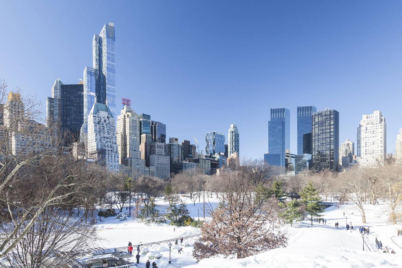 Nueva York nevado, Central Park. Fotografía © Montse Zamorano