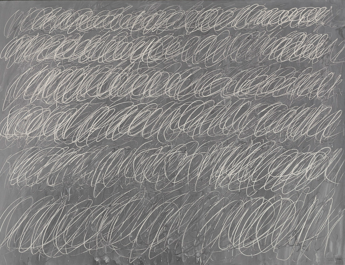 "Cy Twombly's ""Untitled, 1968 (New York City)"". © Cy Twombly"