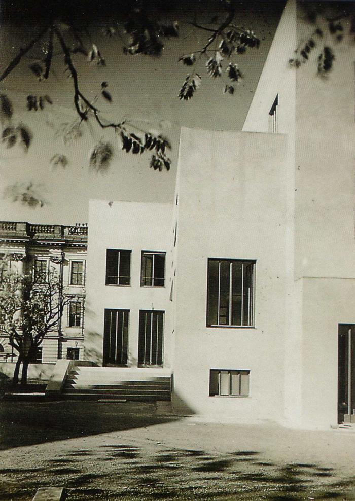El paseo de entrada, 1929. Mortiz Narhr. Cortesía de Juan D. López-Arquillo