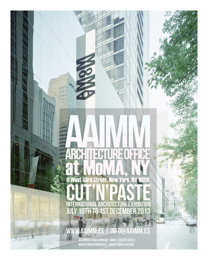 Solar Tower project. AAIMM Architecture Office. Poster