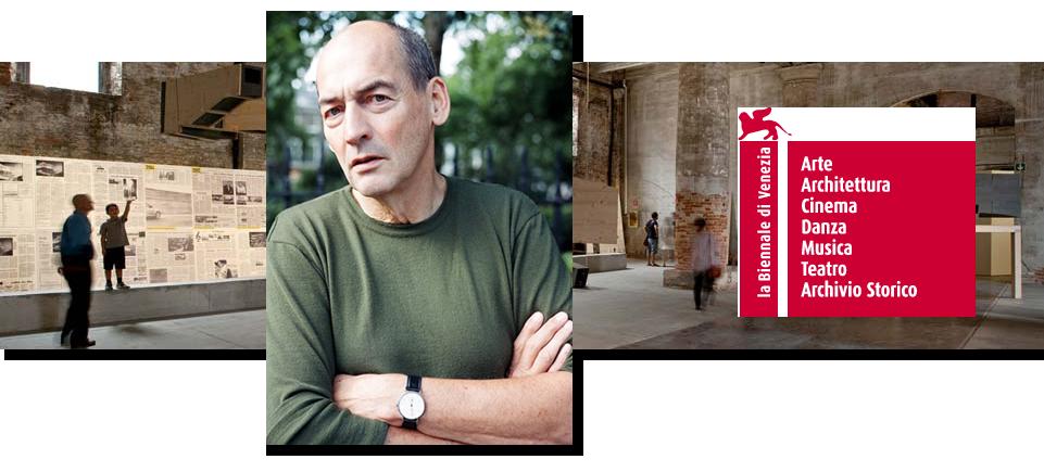 Fundamentos. Rem Koolhaas anuncia el tema para la Bienal de Venecia 2014