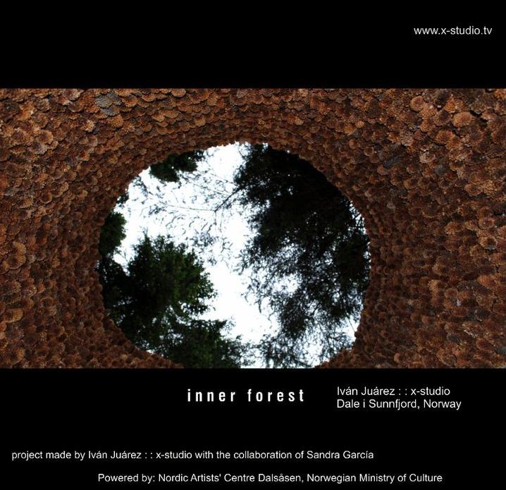 Poster. INNER FOREST by Ivan Juárez