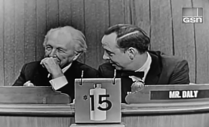 Frank Lloyd Wright en el programa de TV, What's My Line