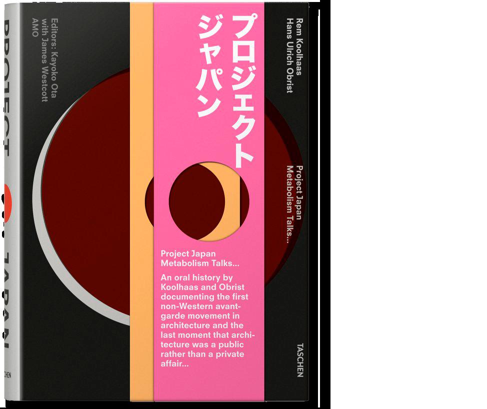 Portada, Project Japan, Metabolism Talks…
