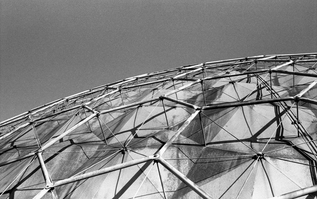 Cúpula de la Unión Tank Car realizada por Buckminster Fuller