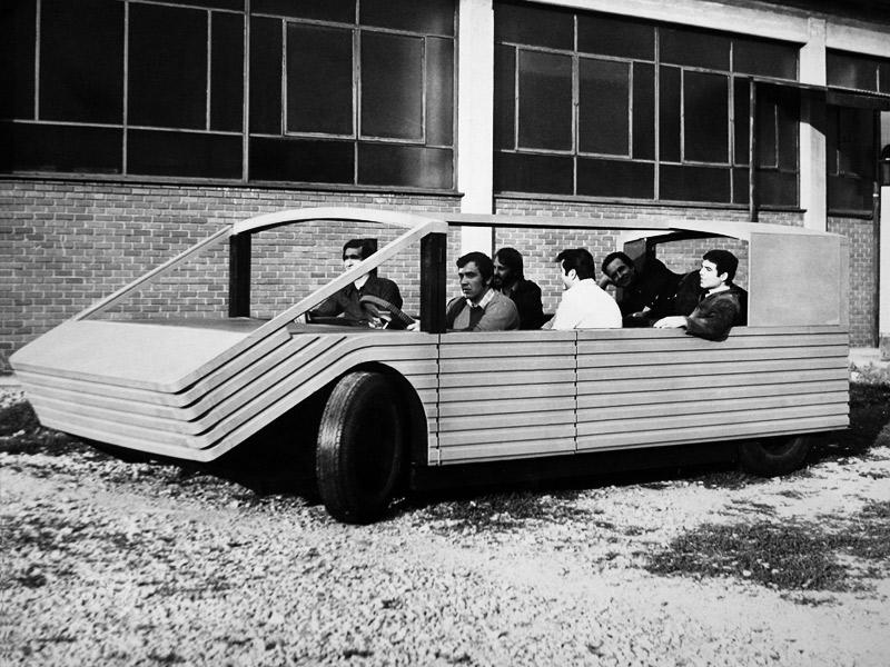 Mario Bellini. Kar-a-Sutra Prototip d'hàbitat mòbil, 1972 ©CSAC, Università di Parma. Sezione Progetto