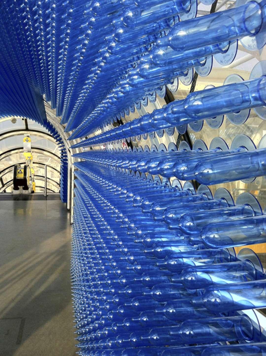 80,000 condones en el Centro Pompidou. Preservation is Life. Cortesía del Centro Pompidou
