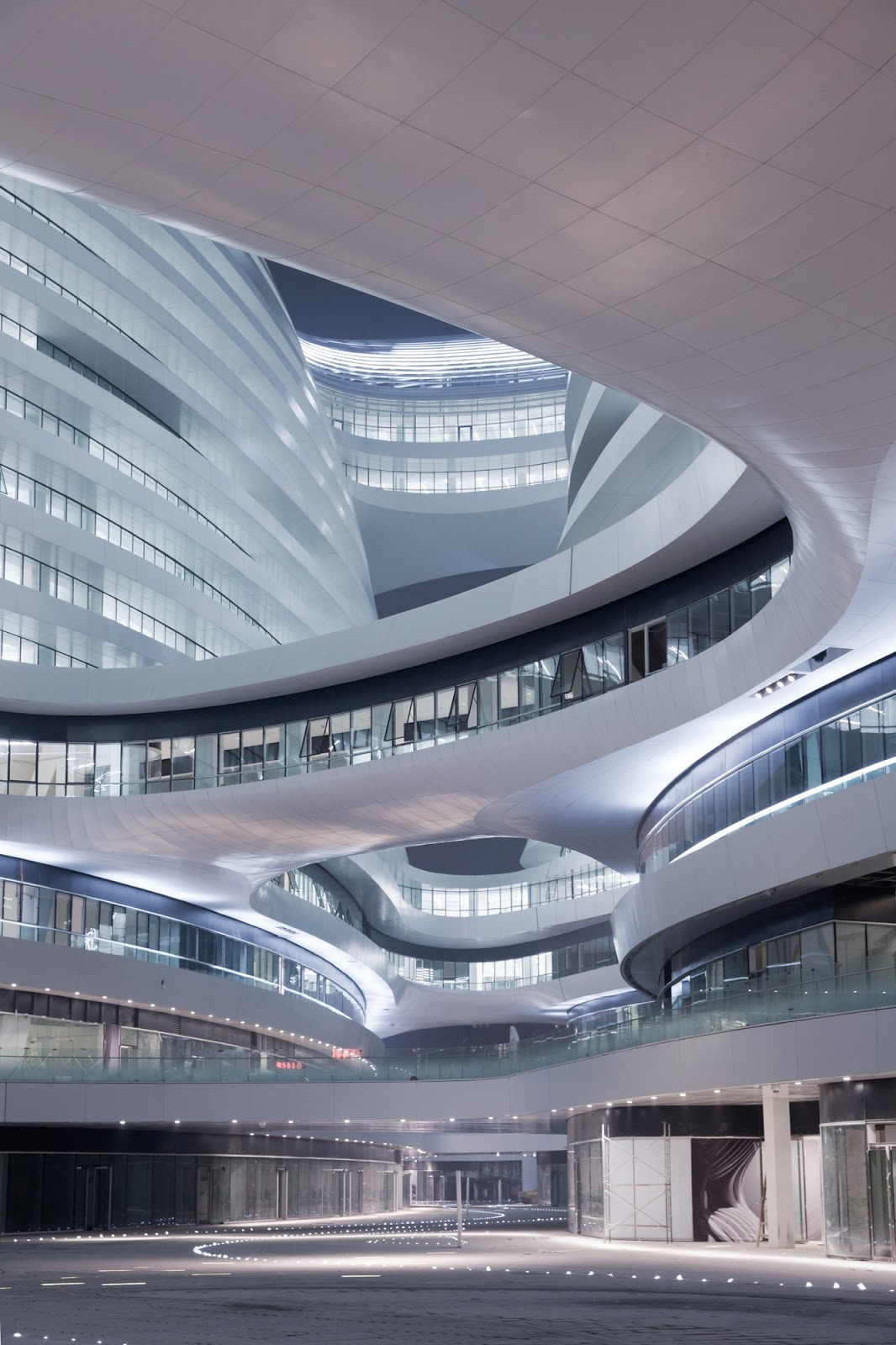 Galaxy SOHO by Zaha Hadid Architects. Photography © Iwan Baan