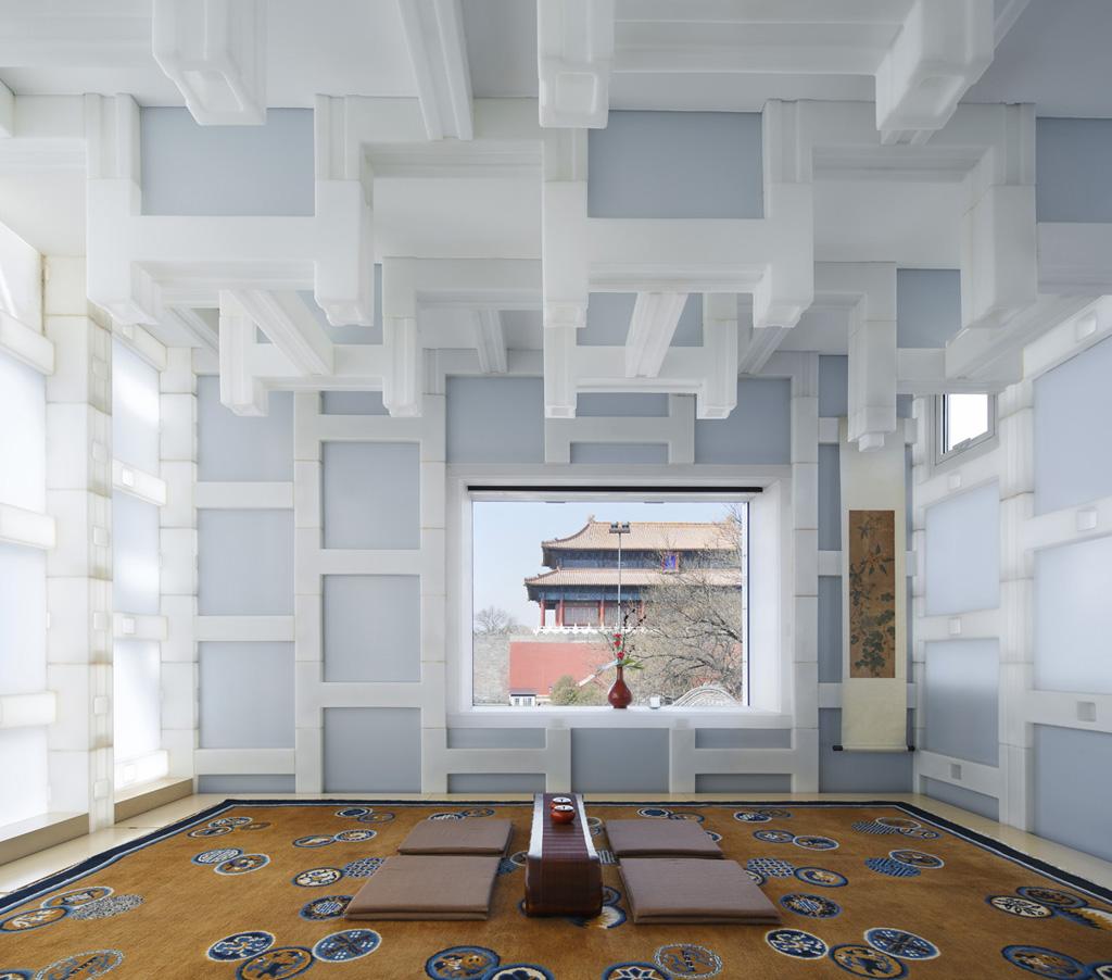 Casa de Té de Pekín por Kengo Kuma and associates. Fotografía © Koji Fujii/Nacasa & Partners Inc.