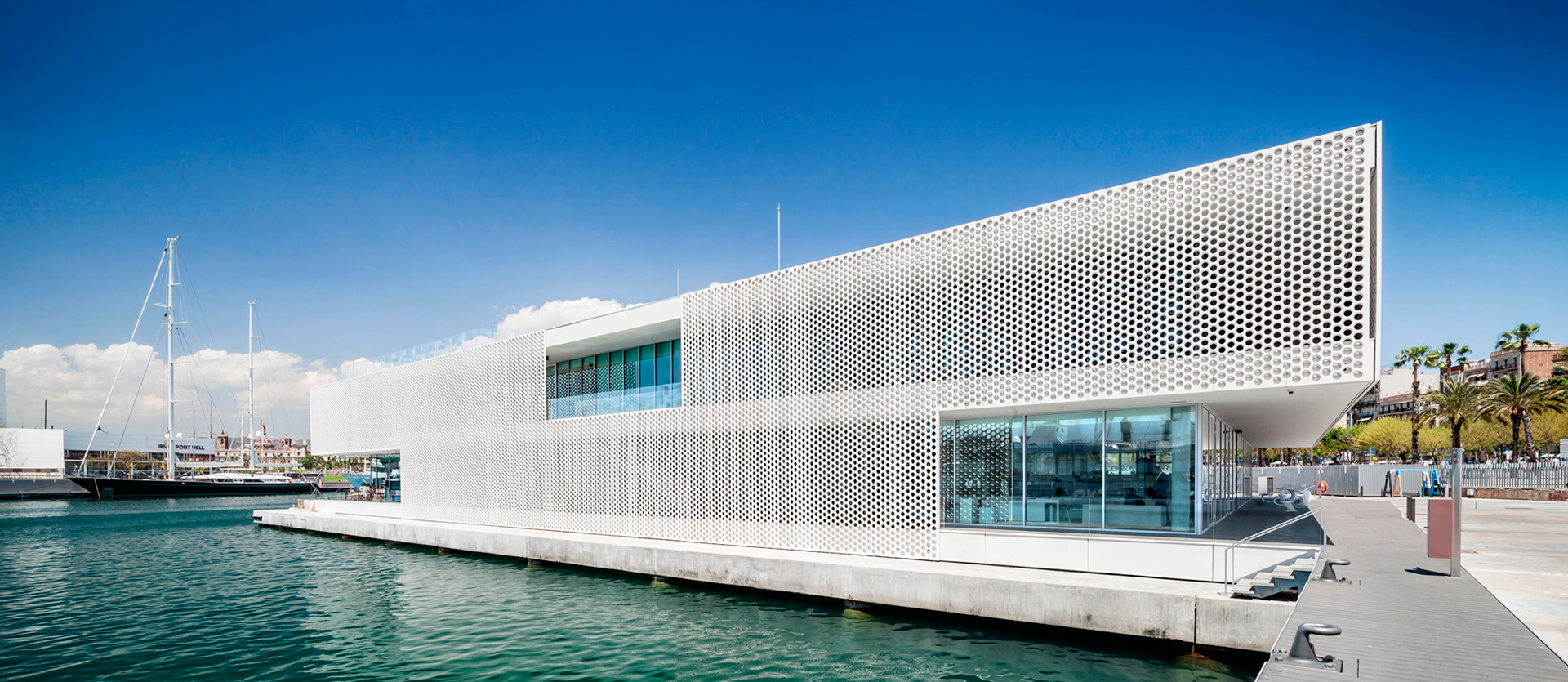 Marina port vell por scob the gallery ii metalocus for One ocean club barcelona