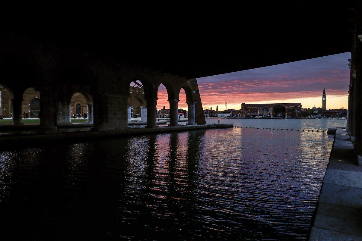 Vista del Arsenale. Cortesía de La Biennale di Venezia