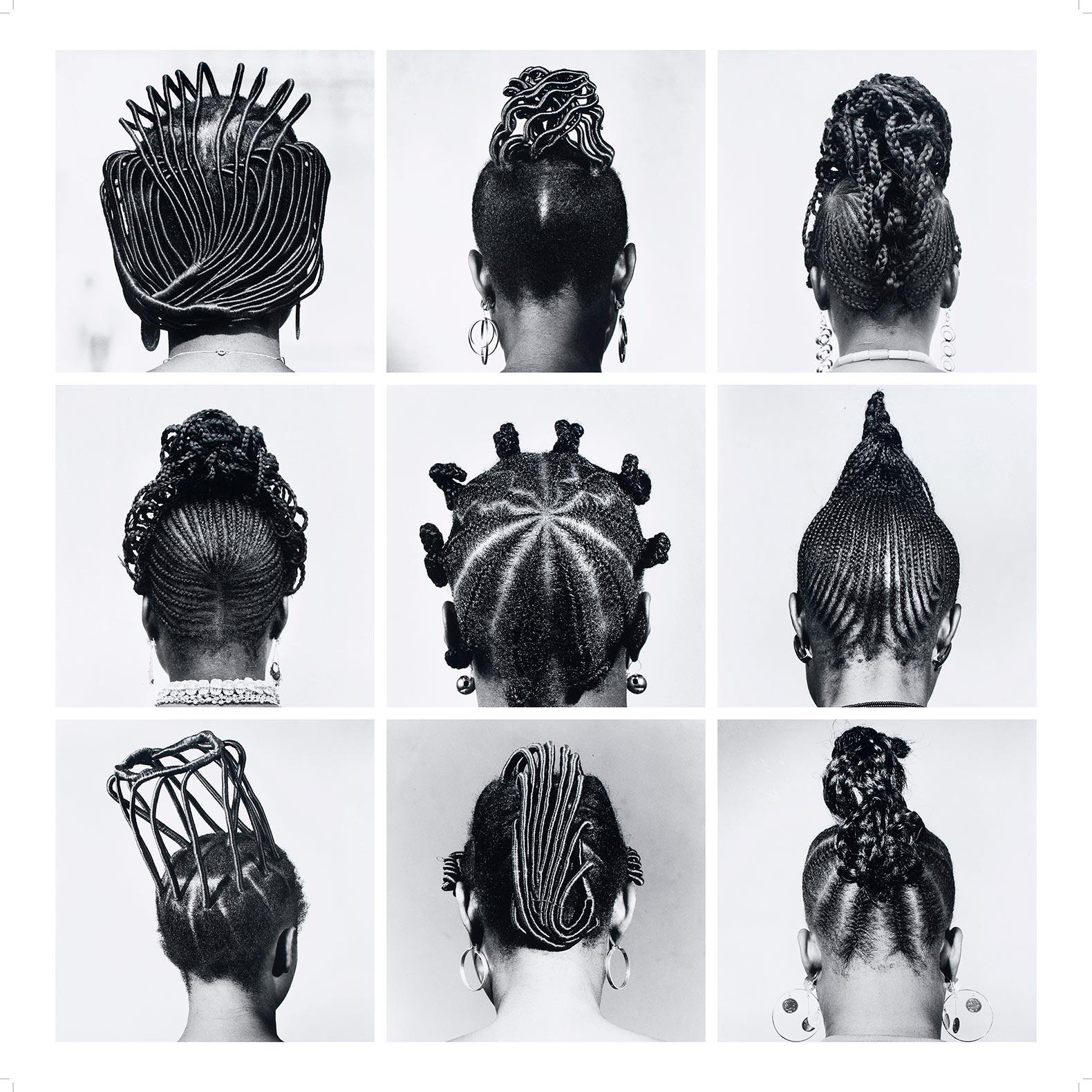 J.D. 'Okhai Ojeikere, Sin título [Peinados], 1970-79. © El artista. Cortesía The Walther Collection y Galería Magnin-A, París