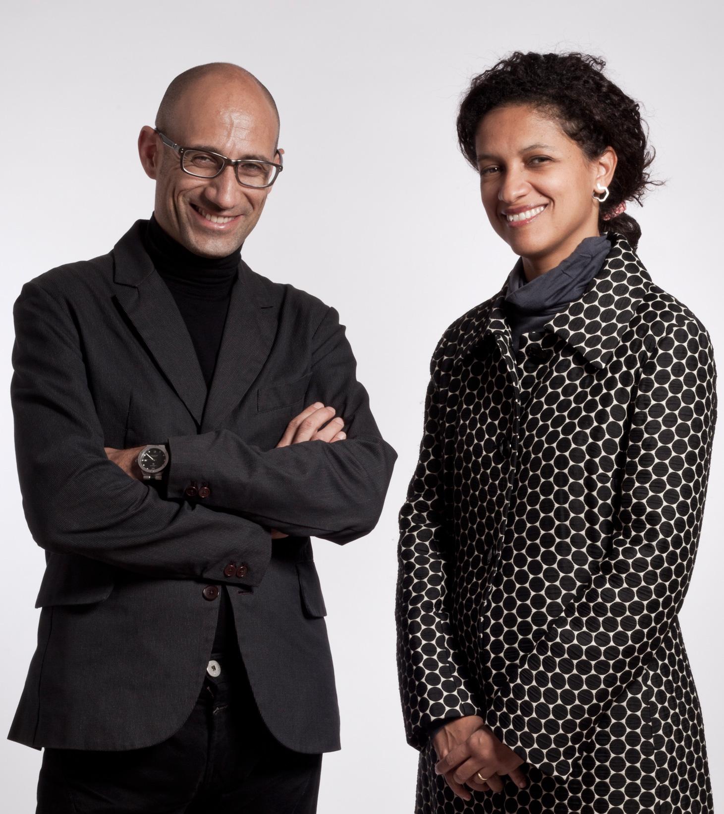 Iñaki Alday and Margarita Jover. Photograph by Borja Ballve
