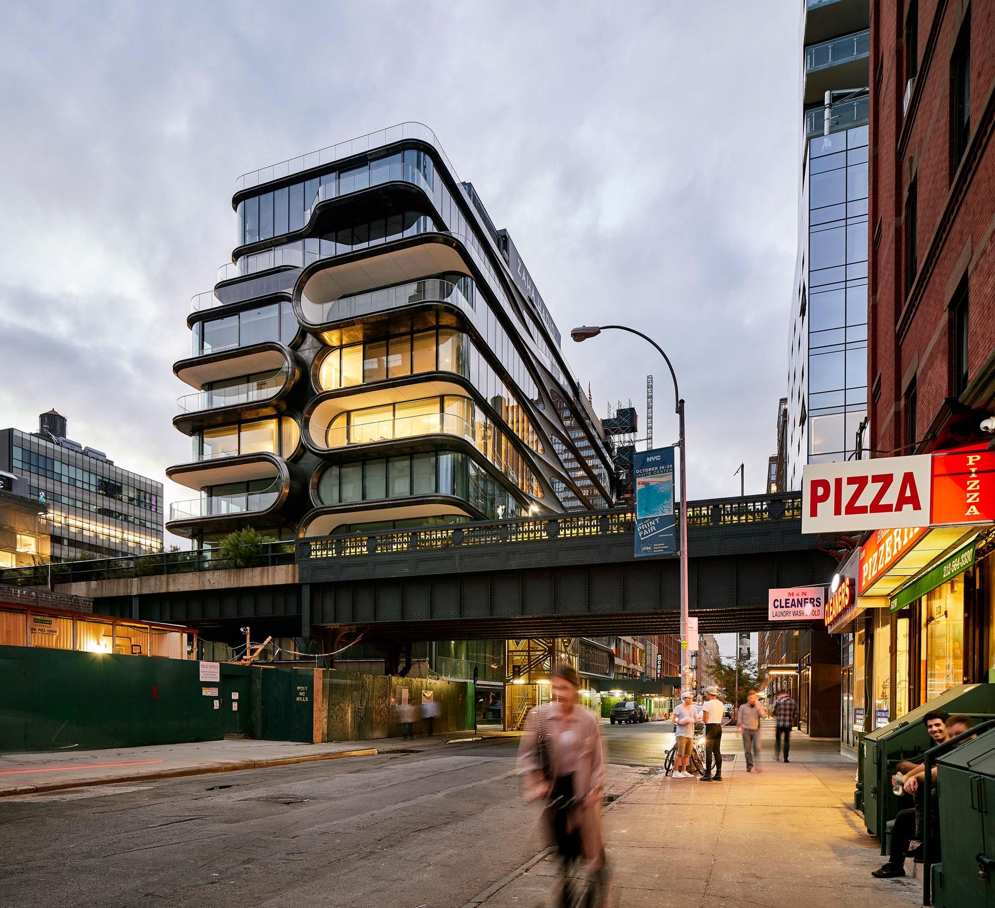 El edificio 520 West 28th de Zaha Hadid Architects. Fotografía por Hufton+Crow, Scott Francis