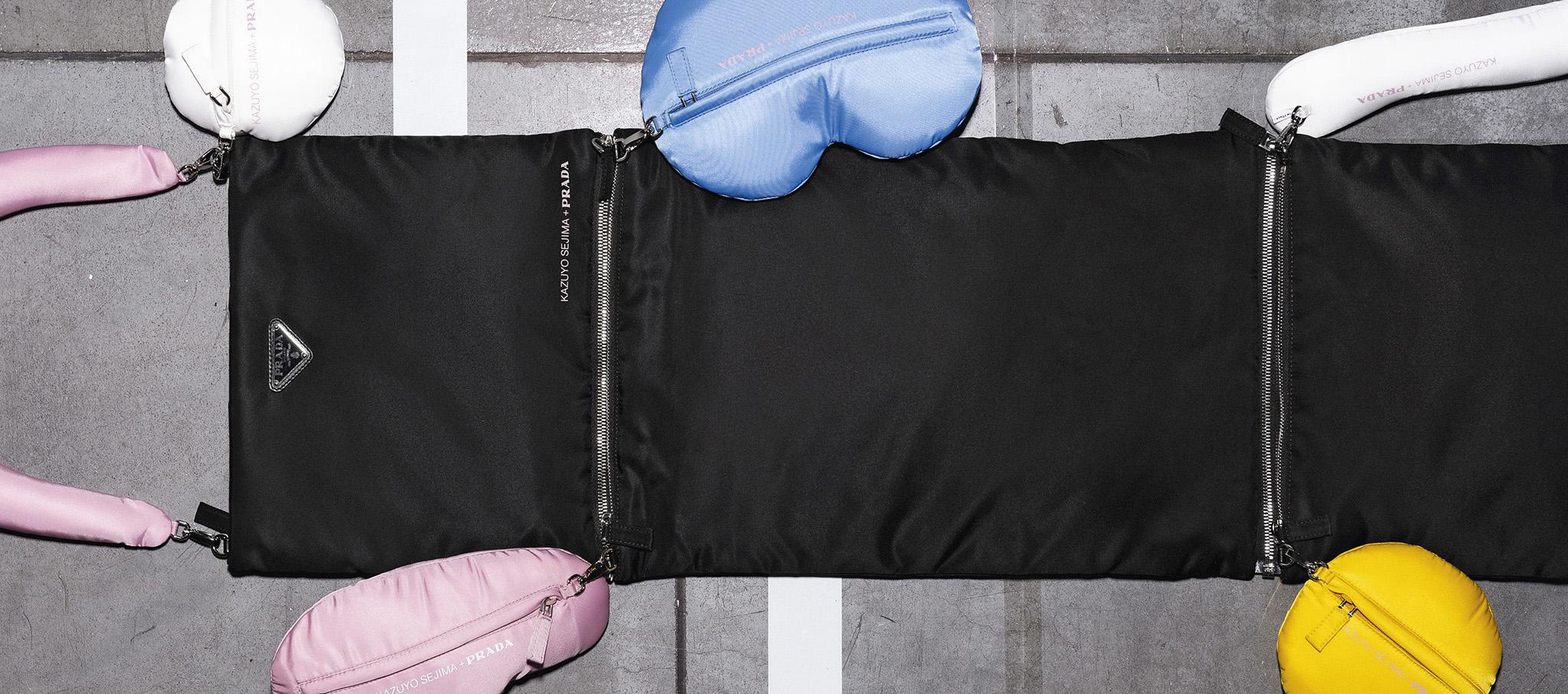 Prada invite designed by Kazuyo Sejima. SS 2019 Womenswear