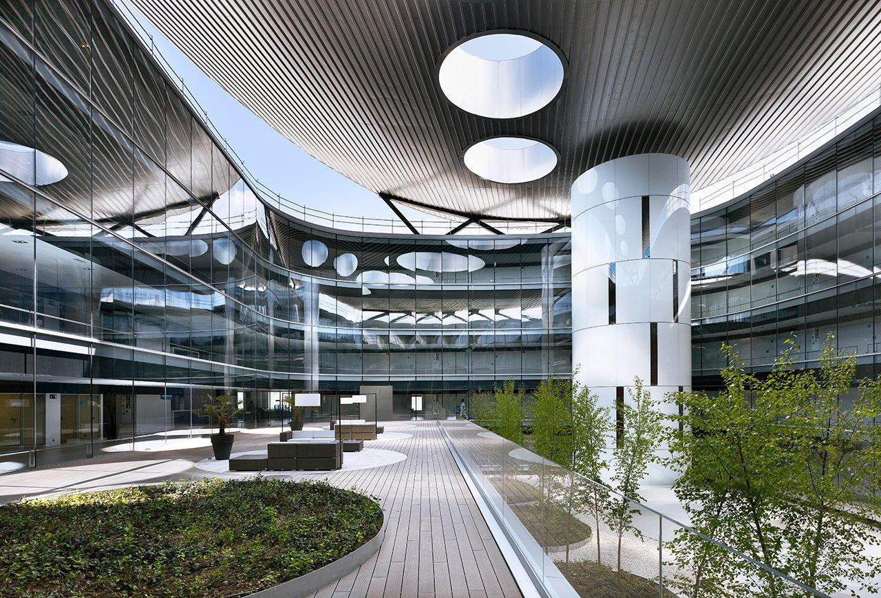 Rey Juan Carlos Hospital, Mostoles. Rafael de la Hoz Arquitectos. Photography © Alfonso Quiroga