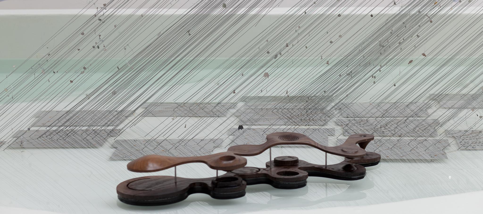 Vistas de la exposición. Amplificación de la Naturaleza. Pabellón de Polonia en la 16 ª Exposición Internacional de Arquitectura - La Biennale di Venezia. Fotografía de Anna Zagrodzka