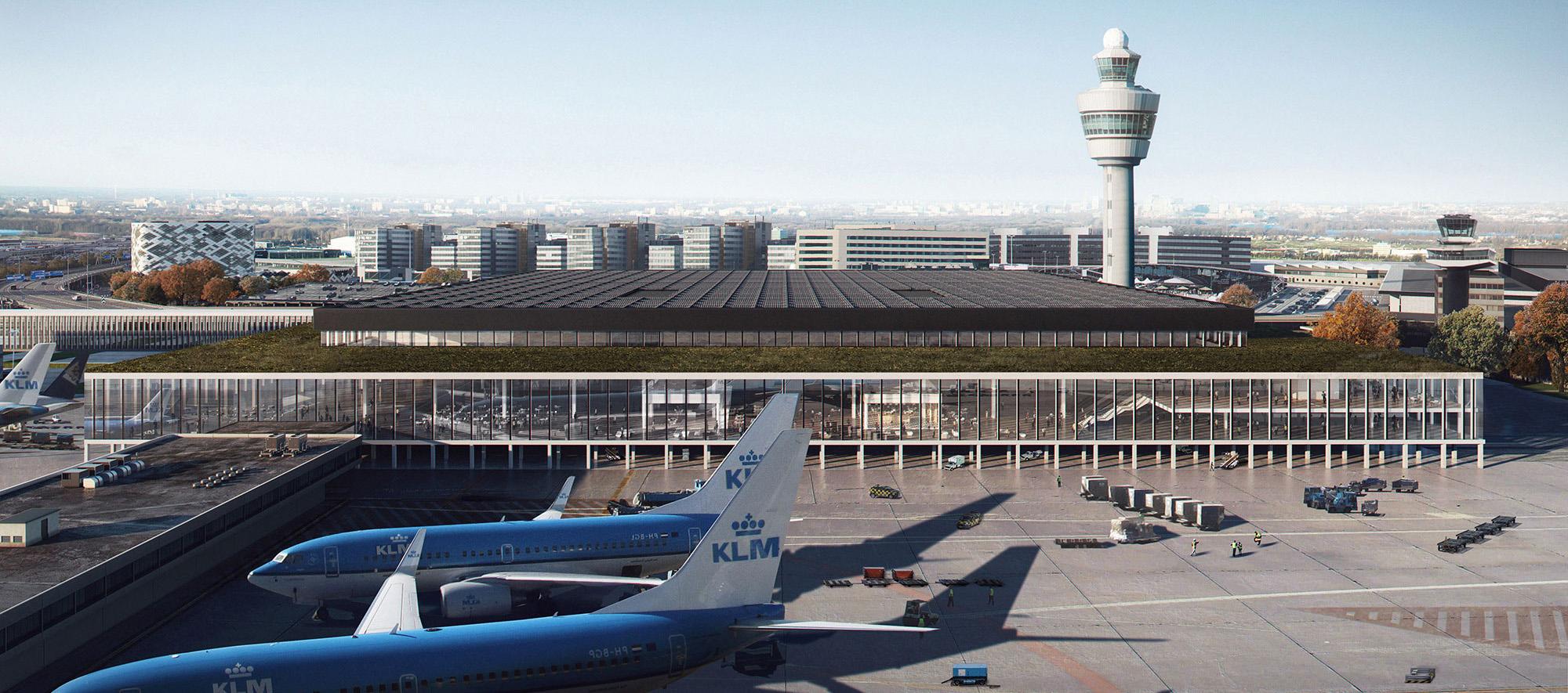 Nueva terminal del Aeropuerto de Schiphol Amsterdam © Beauty & The Bit